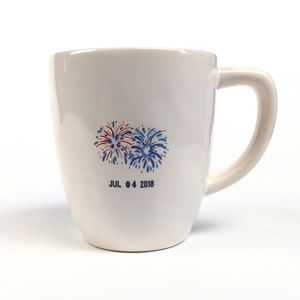 Rae Dunn Magenta 'Fourth of July' Coffee Mug